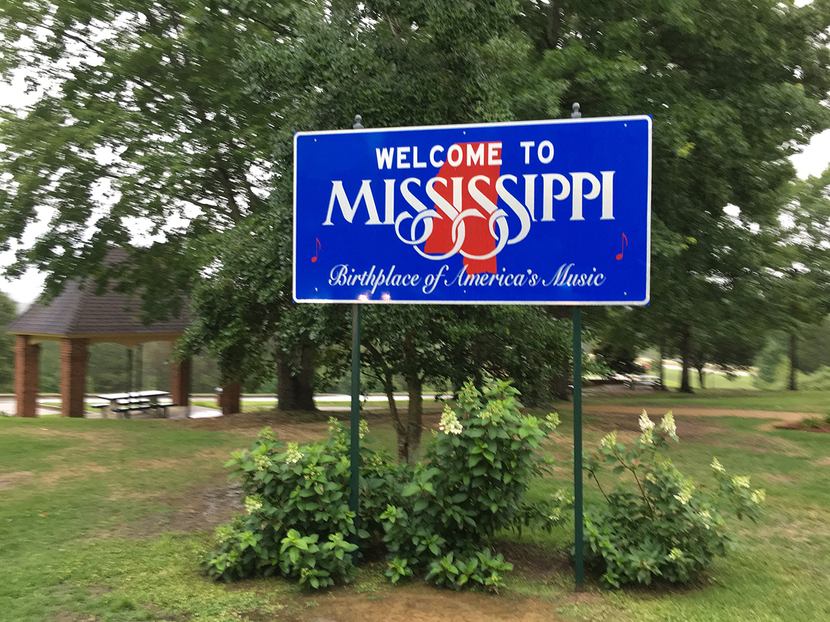 Mississippi: Their claim is true. This is home to Blues greats such as Robert Johnson.